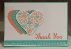 I've got some thank you stamps . . . want to make handmade cards (in all my free time, lol).