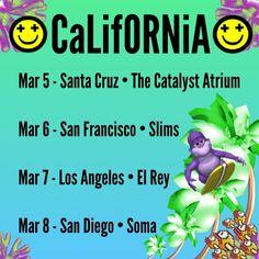New Beat Fund California Tour 2014