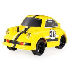 #TomTop - #TomTop MINI-Q 1/28 2.4G High Speed Brushed Electric QQ Colorful Cartoon RC Racing Car Toys RTR - AdoreWe.com