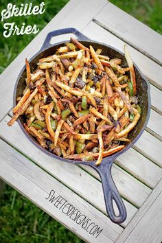Easy to make skillet fries!