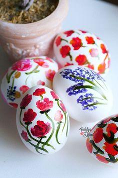 Beautiful Last Minute Easter Eggs