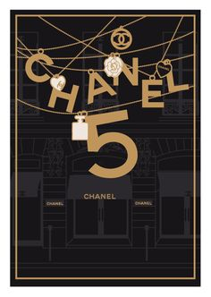Chanel No. 5 from TheShufflePrintsShop