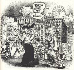 Robert Crumb, Cover illustration for The East Village Other (1968)