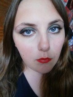 Loki inspired make-up (by me).