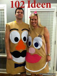 Trajes de casal do Dia das Bruxas - Halloween Paar Kostüme - Deer Halloween Costumes, Cute Costumes, Halloween Kostüm, Holidays Halloween, Halloween Decorations, Halloween Couples, Zombie Costumes, Group Halloween, Homemade Halloween