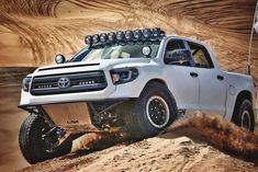 2014 Toyota Tundra Prerunner with LSK Race Kit performance suspension
