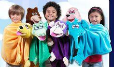 As Seen On TV Best Offers, CuddleUppets Puppet Blankets As Seen On TV