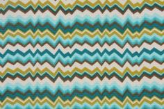 Vibe Printed Poly Outdoor Fabric in Peacock $6.95 per yard