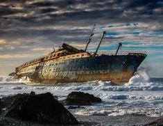 Wreck of SS American Star #ssamericanstar #abandoned