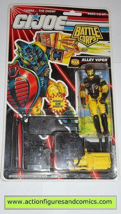 gi joe ALLEY VIPER cobra 1993 v2 battle corps vintage action figures moc mip mib
