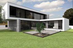 Magnific Home :: Projeto Rubi Home Building Design, Building A House, Modern Architecture House, Architecture Design, Amazing Architecture, Country Modern Home, Shed To Tiny House, Modern Bungalow House, Modern Villa Design