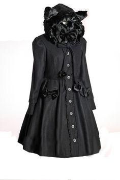 Manteau sweet lolita gothique noire