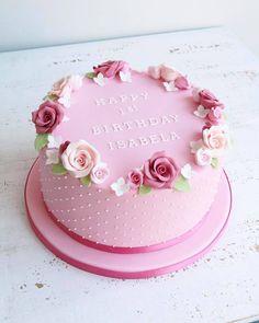 lemon mug cake Cake Decorating Designs, Creative Cake Decorating, Cake Decorating With Fondant, Cake Decorating Videos, Birthday Cake Decorating, Birthday Cake Icing, Pretty Birthday Cakes, Pretty Cakes, Birthday Cake For Mom