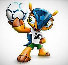 FULECO isthe Mascot of the 2014 FIFA World Cup in Brazil