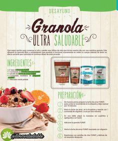 Tránsito lento 😫 dale a tu organismo la solución, inicia el día con un desayuno cargado de fibra. Los ingredientes en www.tonosaludables.com