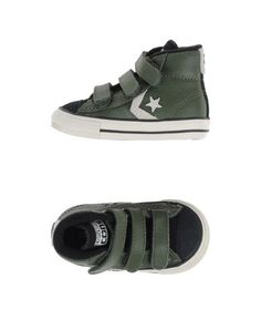 #Converse cons sneakers and tennis shoes alte Verde militare  ad Euro 65.00 in #Converse cons #Bambino calzature sneakers