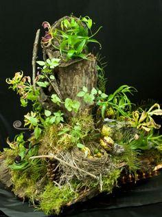 woodland forest floral arrangements | woodland arrangement 4, Françoise Weeks