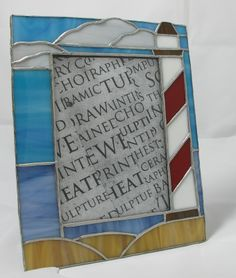 stained glass picture frame | Picture Frames