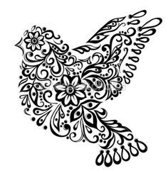 BIRDS Stock Photos, Illustrations and Vector Art | Depositphotos® WOULD BE COOL IN DIFFERENT COLORS