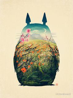 Tonari No Totoro by Victor Vercesi.