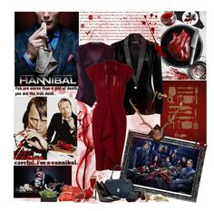 """""""Hannibal"""" by cyanideteaparty ❤ liked on Polyvore featuring Forever New, Polo Ralph Lauren, Elie Saab, JustFab, Mr. Bathing Ape, OPI, Nelly Accessories, WALL, Lux-Art Silks and Yves Saint Laurent"""