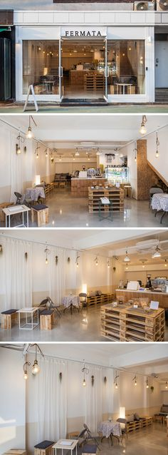 Coffee Shop Interior Design, Restaurant Interior Design, Cafe Interior, Kitchen Interior, Small Coffee Shop, Coffee Store, Asian Cafe, Container Coffee Shop, Bbq Shop