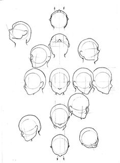 Learn to Draw: Human Head from Learn to Draw. Simplified Geometric Analysis of human head. Drawing Skills, Drawing Lessons, Drawing Techniques, Figure Drawing, Drawing Reference, Art Lessons, Drawing Tips, Drawing The Human Head, Drawing Heads