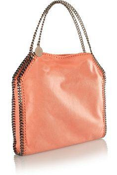 Stella McCartneyFalabella faux brushed-leather shoulder bagfront