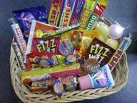 RETRO-HAMPER-RETRO-SWEETS-OLD-SCHOOL-SWEETS Sweet Hampers, Raffle Ideas, Retro Sweets, Snack Recipes, Snacks, Pop Tarts, Old School, Band, Snack Mix Recipes