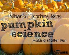 Pumpkin Science Stations