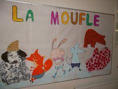 Imagier La moufle et fresque chez Isa S