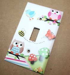 Thank you for visiting Toad and Lily™!      Our light switch covers can make that perfect little extra added touch to your childs bedroom décor.