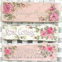 Home Decor Signs | Shabby Chic