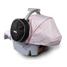 Diaper bag attaches to car seat. DIY?