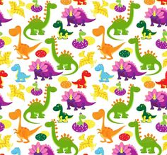 baby dinosaurs pattern by Microvector on @creativemarket
