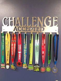 Ikea Hack Race Medal Hanger And Shelf Ikea Running