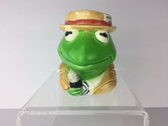 Vintage Sigmo Kermit the Frog Coffee Mug Jim Hensen Muppets Kermit Collectible | Collectibles, Animation Art & Characters, Animation Characters | eBay!