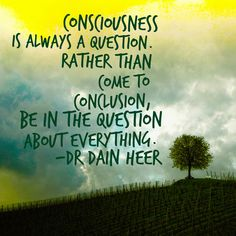 Why Consciousness? Click to watch a free google hangout all about what consciousness can create!  #dainheer #accessconsciousness #consciousness