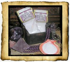 Purple Patchouli Mojo Powder 2 oz  for by CauldronCraftOdditys, $5.00