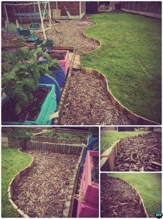 20 diy raised garden bed ideas instructions free plans for Landscape timber projects free plans