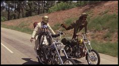 """On the road with Peter Fonda,Jack Nicholson,and Dennis Hopper from """"Easy """"If you wanna' be a bird…. Harley Davidson Engines, Harley Davidson Motorcycles, Jack Nicholson, Peter Fonda Easy Rider, Biker Movies, Bike Rally, Motorcycle Posters, Motorcycle Clubs, Motorcycle Style"""