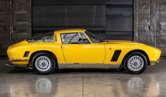 #Iso #Grifo #Coupe Serie 1 - Yellow Car