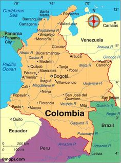 Colombia- Lots of kidnapping and drug deals