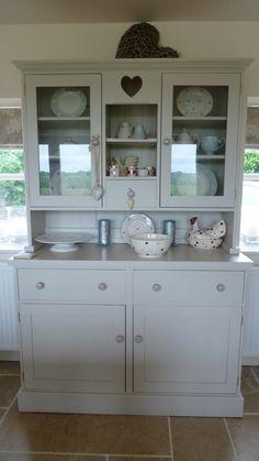 Handmade bespoke Farrow and Ball Dresser. Bespoke Furniture, Handmade Furniture, Handmade Kitchens, China Cabinet, Cabinets, Dresser, Storage, Vintage, Home Decor