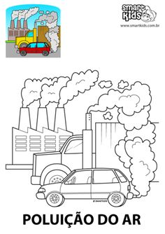 Drawing For Kids, Art For Kids, Air Pollution Poster, Computer Lab Classroom, Earth Day Posters, Poster Drawing, Pencil And Paper, Ares, Kids Corner