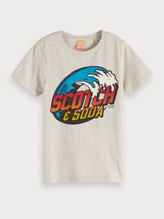 Scotch Shrunk Boys' Waves Tee - Little Kid, Big Kid Kids - Bloomingdale's Scotch Shrunk, Scotch Soda, Kids Online, Boys T Shirts, Direct To Garment Printer, Big Kids, Shirt Style, This Or That Questions, Tees