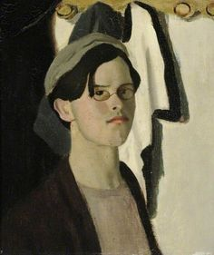 Self Portrait ~ Sir William Rothenstein (English 1872 - 1945)