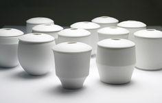 Porcelain Tableware by Ko Hee Sook