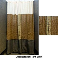 Shower curtain Auntie Brown  A few pcs in stock.