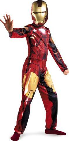 Iron Man 2 Mark 6 Classic Costume, Child S(4-6)